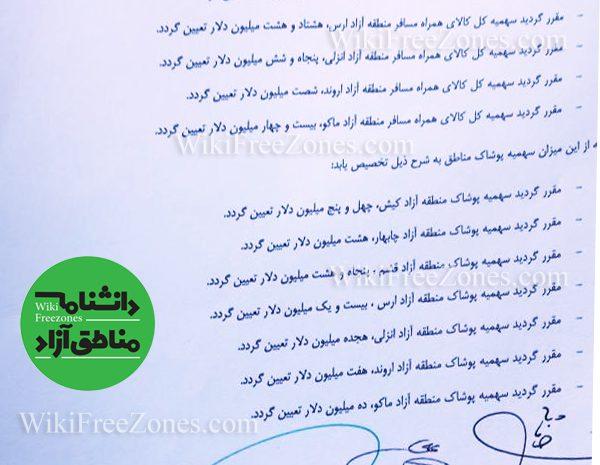 سهمیه کالای همراه مسافر مناطق آزاد سال ۹۸