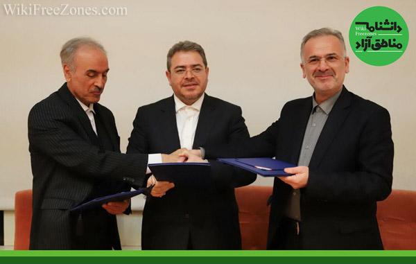 امضای تفاهمنامه همکاری مناطق آزاد ماکو و ارس با منطقه آزاد انزلی