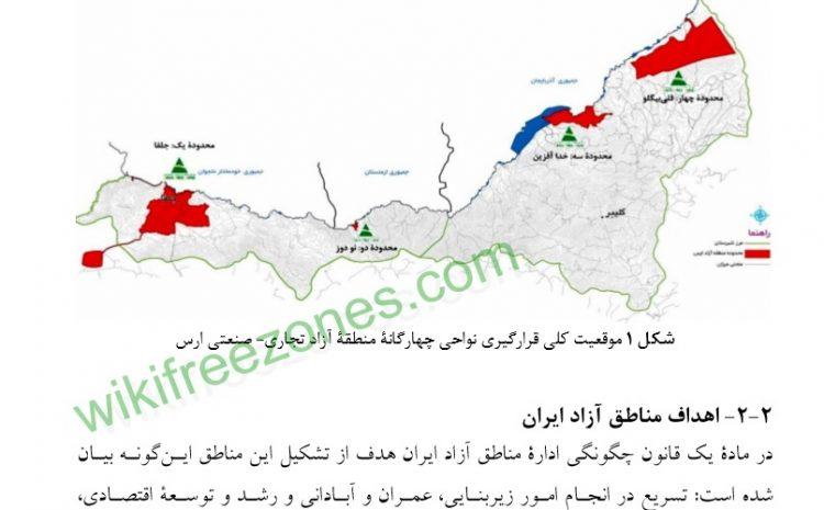 سند: توسعه منطقهای در نواحی مرزی شمالغربی ایران (نمونه موردی منطقه آزاد ارس)