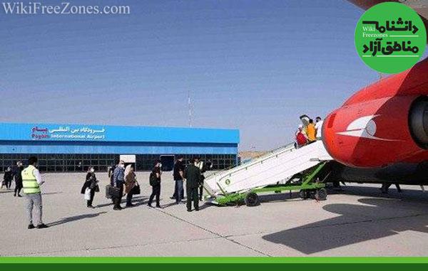 خط پروازی کرج ـ کیش در فرودگاه پیام برقرار شد