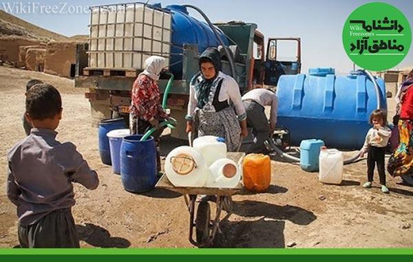 حمایت سازمان منطقه آزاد قشم از حل مشکلات آب آشامیدنی سالم روستاهای قشم