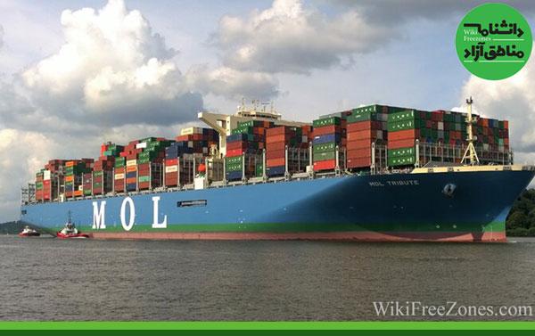 راهاندازی خط دائمی کشتی کانتینربر بین ایران و روسیه