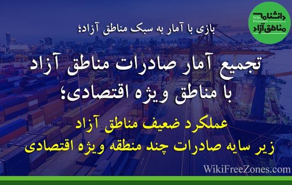 بانک: سهم ۴۰ درصدی صادرات ایران از مناطق آزاد و ویژه / عملکرد ضعیف مناطق آزاد زیر سایه چند منطقه ویژه اقتصادی
