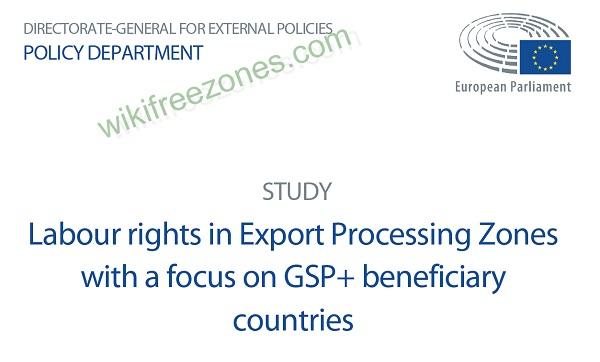سند: حقوق کار در مناطق پردازش صادرات