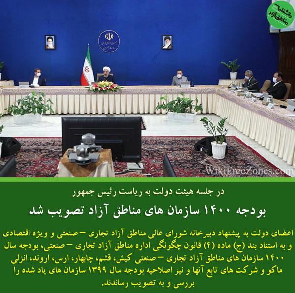 بودجه سال 1400 مناطق آزاد تصویب شد